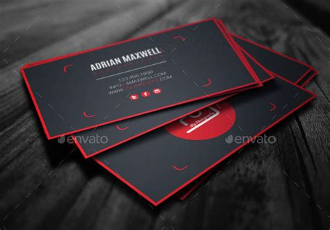 card templates for photographers 2015 25 modern photography business card design templates