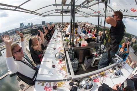 dinner in the sky bathroom dinner in the sky takes your dining experience to a whole new level inside vancouver