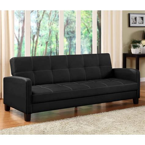 mainstays sofa bed mainstays contempo futon sofa bed multiple colors