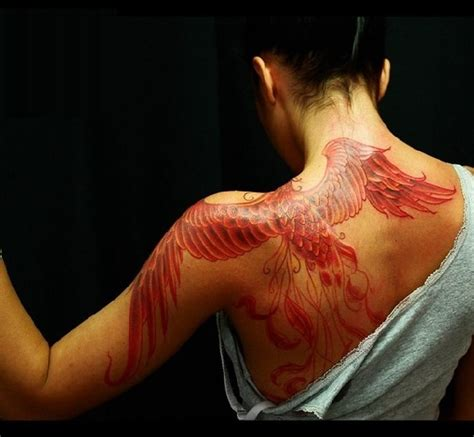 110 stunning phoenix tattoos and meanings april 2018