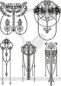 Art nouveau on Pinterest   Art Nouveau Design, Art Nouveau Flowers and Art deco
