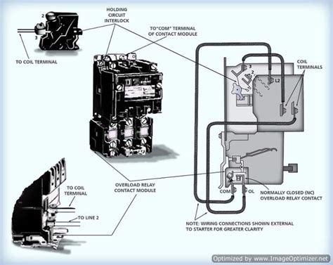 furnas magnetic starter wiring diagram single phase