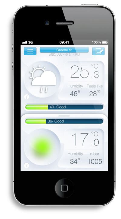 home weather station iphone 28 images netatmo