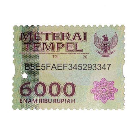 harga terbaru materai isi 100 pcs spesifikasi lengkap id