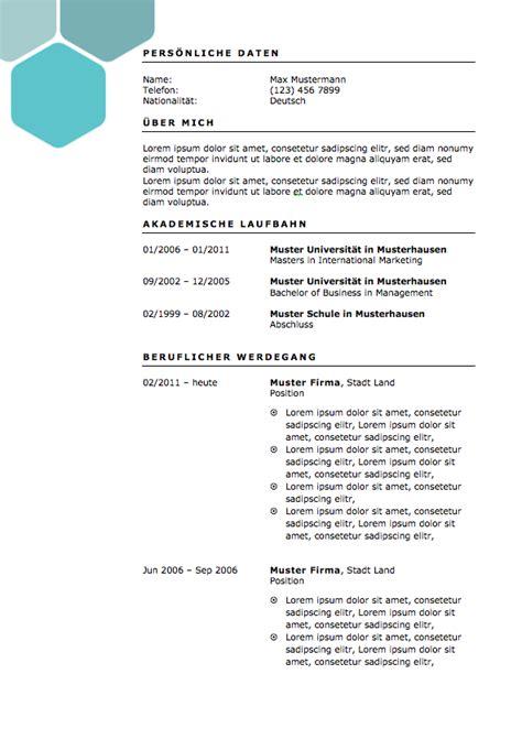 Bewerbung Lebenslauf Muster by Bewerbungsvorlagen Und Muster Meinebewerbung Net