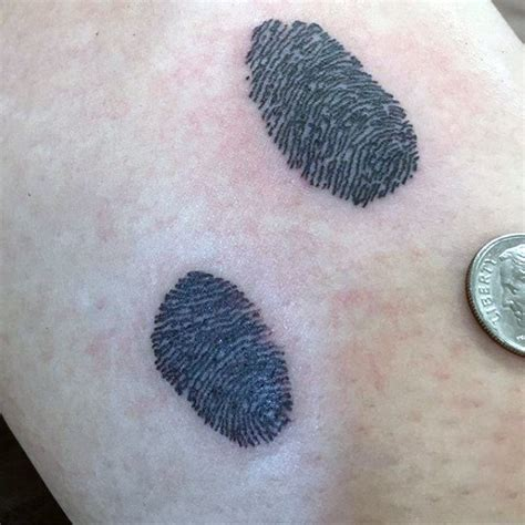 fingerprint tattoo designs top 40 best fingerprint tattoos for masculine designs