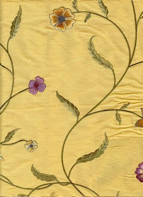 embroidered silk drapery fabric embroidered silk drapery fabric arumina silk curtain