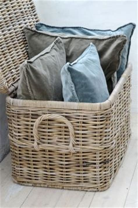 large basket for storing throw pillows 1000 ideas about pillow storage on pinterest hanging