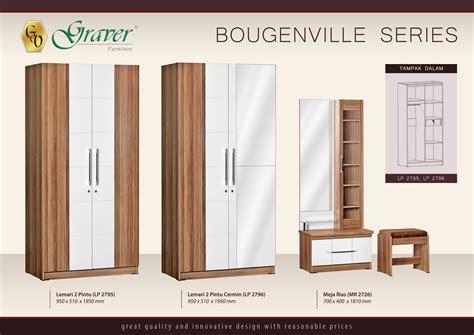 Lemari Pakaian 3pintu Minimalis Graver toko furniture di cianjur lemari pakaian minimalis 2pintu