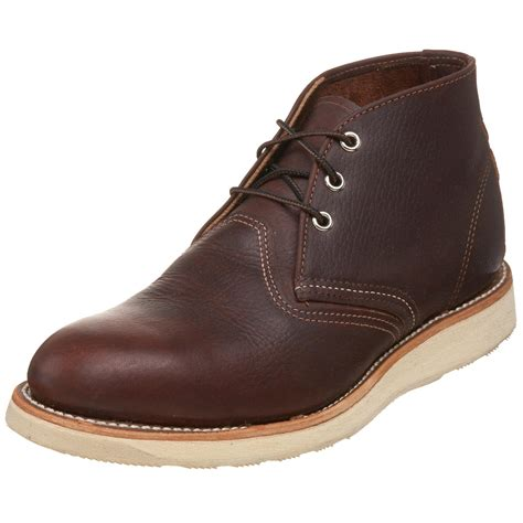 mens chukka work boots wing shoes mens work chukka boot in brown for