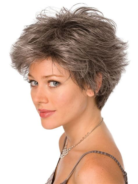 wavy salt and pepper weave for black women short wavy grey capless synthetic hair wig cheap
