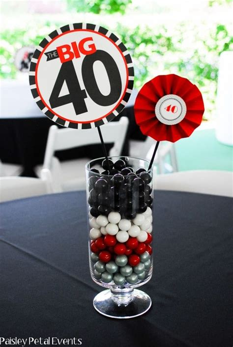 the hill centerpieces the hill ideas paisley petal events 40th
