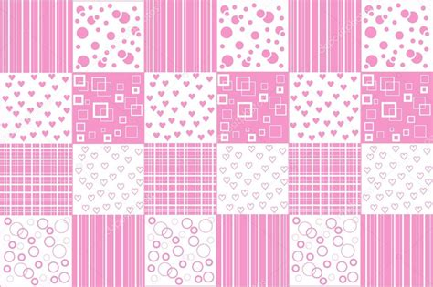 Patchwork Style - abstract vector patchwork background in vintage style