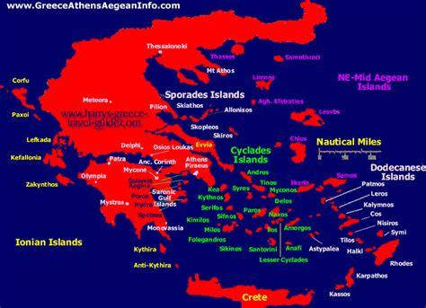 greek islands   glance