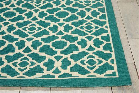 teal colored rugs nourison wav14 color motion wcm01 teal rug