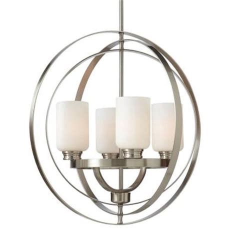 248 Living Room Home Decorators Collection 4 Light Brushed Nickel Dining Room Light Fixtures