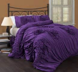 Lush Bedding Sets Purple Bedding Set Luxurious Duvet Bedspread Regal Bedroom