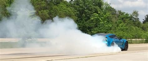 corvette burnout bad 1 000 hp turbo corvette c7 is not a bad burnout
