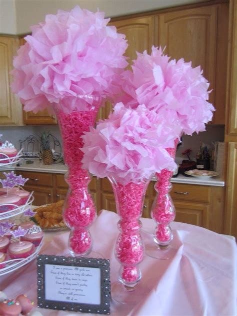 Baby Shower Vases by Pin By On Baby Shower Centerpieces