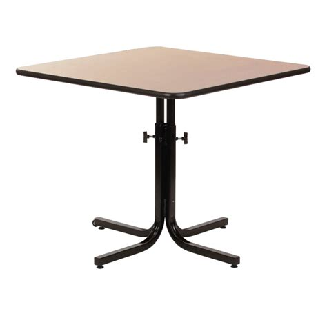 adjustable height dining table 4 persons