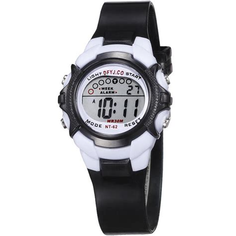 boys students waterproof sport digital