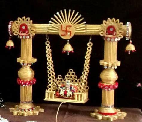 krishna janmashtami themes janmashtami decoration ideas krishna jhula design