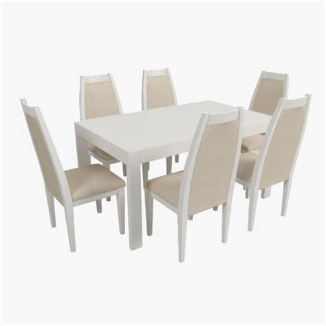 dining table 3d model modern dining table with chairs free 3d model max obj 3ds