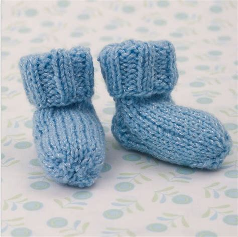 easy knit booties pattern shimmery simple knit baby booties free pattern babies