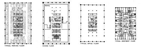 Program For Floor Plans the john hancock center by skidmore owings amp merrill som