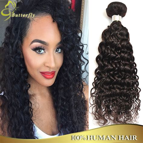 and wavy human hair brazilian water wave ali moda hair 7a unprocessed