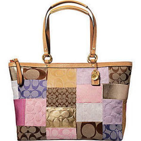 Coach Patchwork - us premium outlet f 11711 coach signature