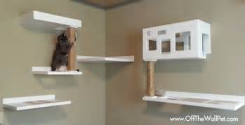 new posh cat climbing furniture from the wall pet