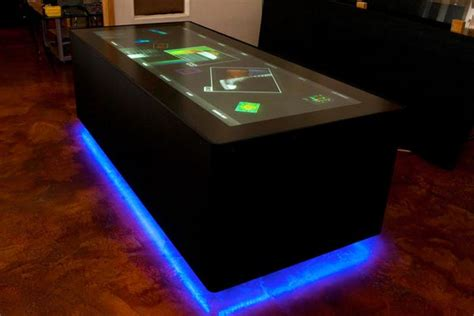 ideum s 100 inch multi touch table