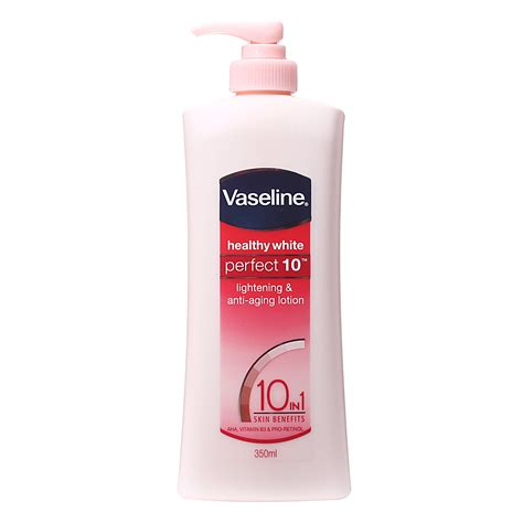 vaseline healthy white 10 lotion 0 from redmart
