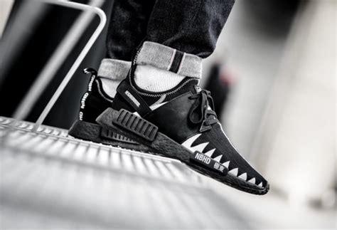 Neighborhood X Adidas Nmd R1 Japan Black White Bnib neighborhood x adidas nmd r1 black boost dropping this