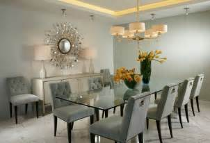 Contemporary Glass Dining Room Table J Design Interior Designer Miami Modern