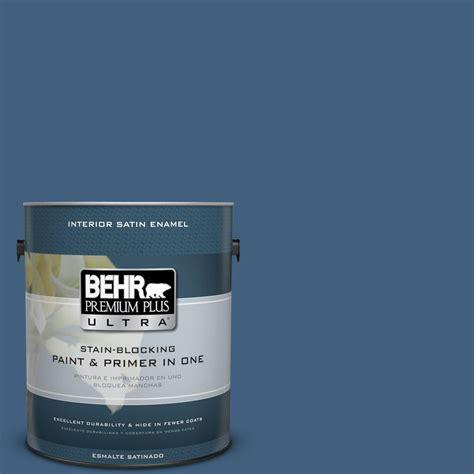 behr paint colors ultra behr premium plus ultra 1 gal m510 6 tidal satin enamel