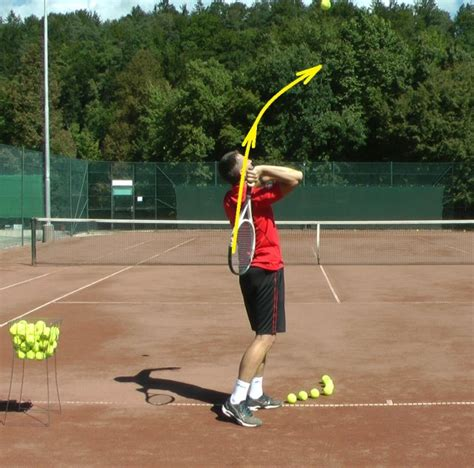 proper tennis swing tennis serve technique 7 steps to correct serve feel