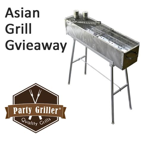 Grill Sweepstakes - asian charcoal grill giveaway closed omnivore s cookbook