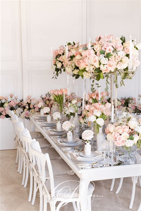 floral decor pink floral wedding head table greenery toronto wedding