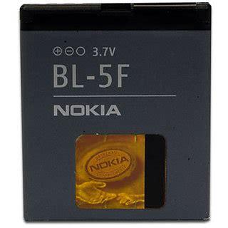 Baterai Battery Nokia Bl 5f Original 100 100 original bl 5f bl 5f bl5f bl 5f battery for