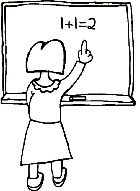 math teacher coloring pages free printable math coloring pages for kids best