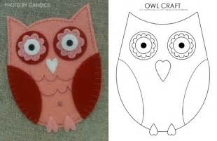 owl templates for craft lovely owl craft