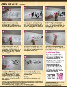 Wall Stickers How To Apply How To Apply Vinyl Wall Decals Quick Amp Easy