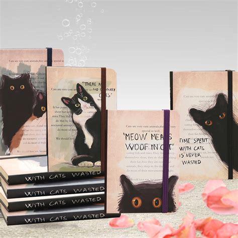 Cat On Weekly Plan Memopad Planner Mingguan 4 pcs cat notebook carrying memo note pad hello kawaii weekly planner trend agenda 2017