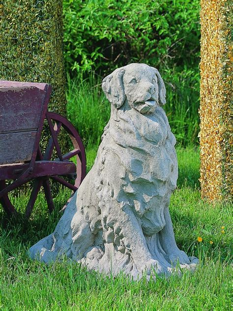 golden retriever statues outdoor 17 best images about golden retriever on oak