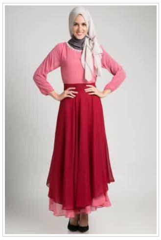 trend gambar model busana muslim wanita terkini 2015