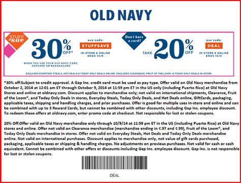printable old navy coupons nov 2015 old navy store coupons and codes 4