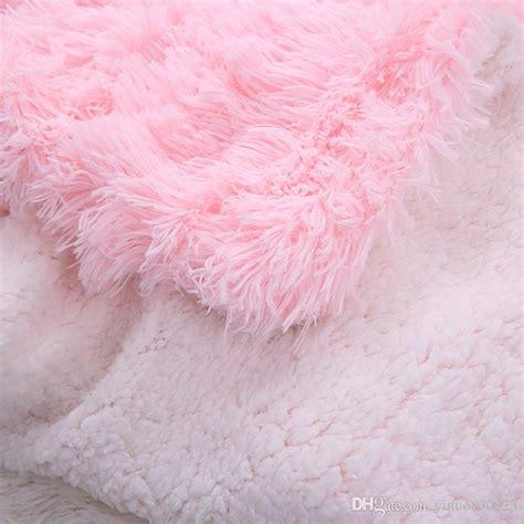 Karpet Bulu Sherpa Fleece Gray drop ship sofa air bedding shaggy throw blankets