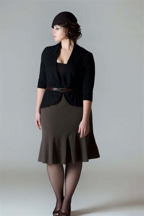 overweight proffesional outfits dress professionally in plus size